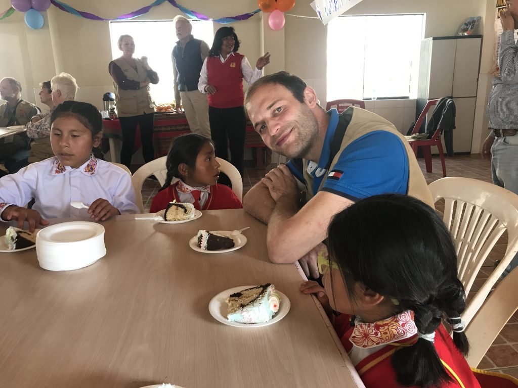 Casa Chapi in Peru - Kuchenpause :-)