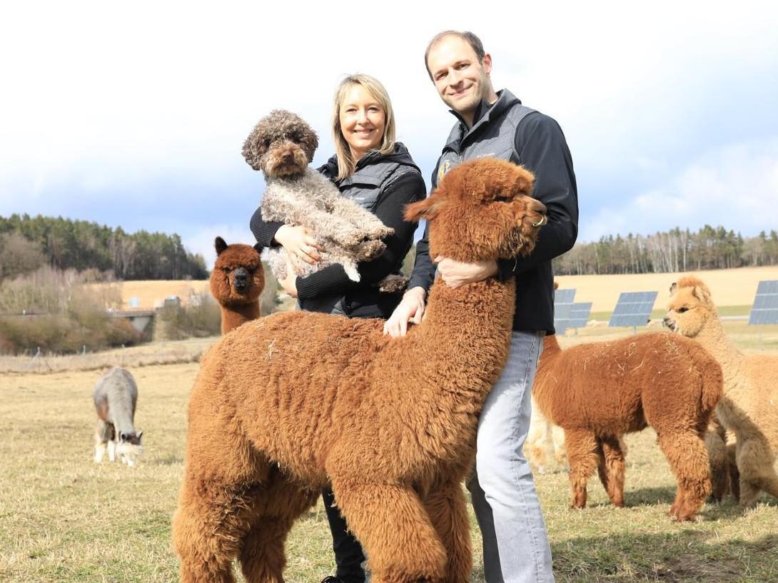 Cornelia und Daniel  Sun Star Alpacas